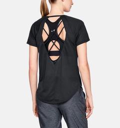 Women's UA  Whisperlight Strappy Back Short Sleeve