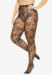 2-Pack Lace Tights by Comfort Choice®
