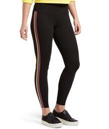 Rainbow Tux Cotton Leggings