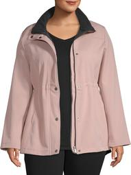Big Chill Women's Plus Sized Anorak Jacket