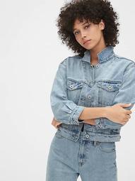 '90s Originals Crop Icon Denim Jacket