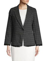 Anne Plaid Blazer