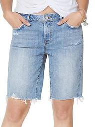 The Harriette Denim Bermuda Shorts