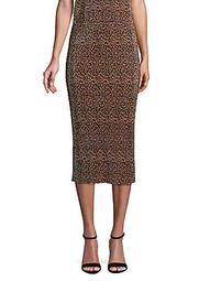 Saloon Leopard Skirt