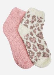 Two Pair Fleece Socks