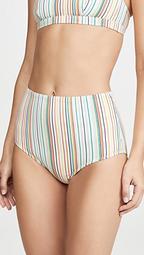 Morgan High Waist Bikini Bottoms