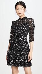 Long Sleeve Met Nuage Dress