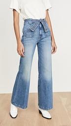 The Tie Patch Roller Jeans