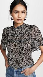 Short Sleeve Celia Lace Top