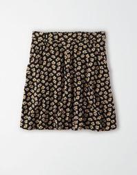 AE High-Waisted Flutter Mini Skirt