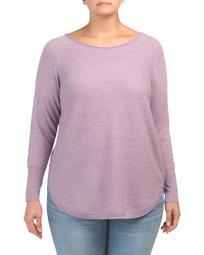 Plus Fine Gauge Merino Wool Sweater