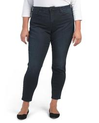 Plus Made In Usa Slimming Skinny Jeans