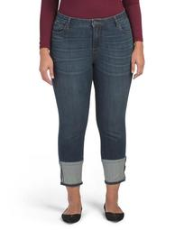 Plus Reese Ankle Straight Leg Jeans