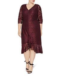 Parker Floral Lace Dress