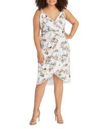 Caroline Sequined Floral Dress