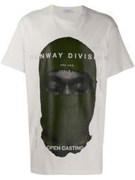 printed Runway Division' T-shirt