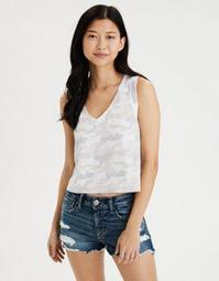 AE Camo V-Neck Muscle Tank Top