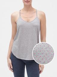 Print Cami in Cotton-Modal