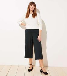 LOFT Plus Wide Leg Pants in Ponte