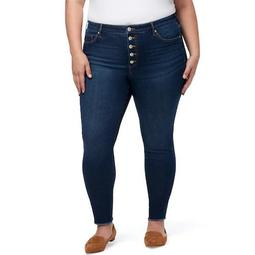 Plus Size Chaps High Waisted Skinny Jeans