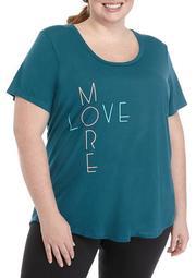 Plus Size Short Sleeve Graphic T-Shirt