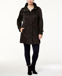 Plus Size Lightweight Anorak Jacket