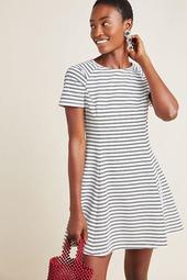 Tess Striped Knit Dress