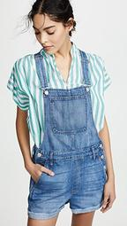 Adirondack Short Overalls in Denville Wash