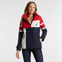 WOMEN'S COLOR BLOCK JCLASS JACKET