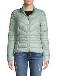 Full-Zip Quilted Jacket