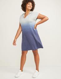 LIVI Active Dip-Dye Hoodie Dress