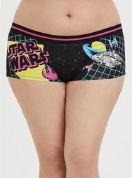Star Wars Black & Neon Cotton Boyshort Panty