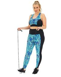 Wolf and Whistle Sustainable Curve Abstract Legging