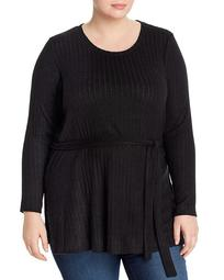 Beau Belted Tunic Top
