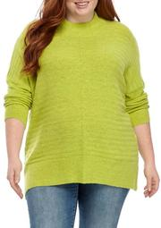 Plus Size Textured Sweater