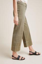 Pintucked Chino Pants