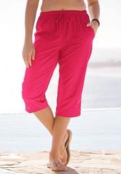 Taslon® Capri Swim Pant