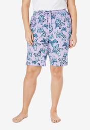 Cotton Poplin Pajama Shorts by Dreams & Co.®