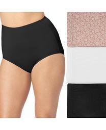3-Pk. Women's Plus Size Without A Stitch Brief Underwear 23173J