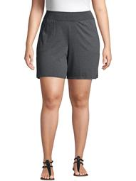 Just My Size Women's Plus Size Athleisure Jersey Pocket Short