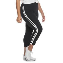 Juniors' Plus Size SO® Favorite Racing Stripe Leggings