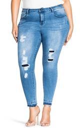 Breeze Ripped Skinny Jeans