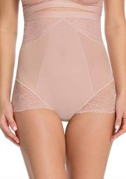 Spotlight On Lace High-Waisted Brief-Plus Sizes-10121P