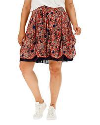 Joe Browns Red Print Skirt
