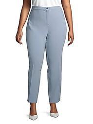 Plus Buttoned Pants
