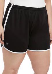 Plus Size New Tulip Hem Shorts