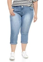 Plus Size Absolution Ankle Skimmer Jeans