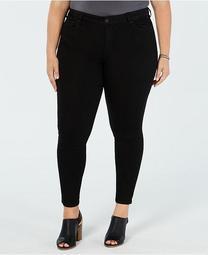 Petite Plus Size Infinite Stretch Skinny Ankle Jeans