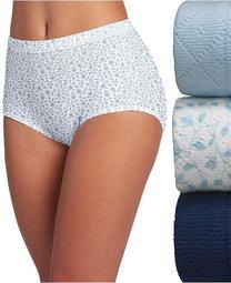 Elance Breathe Brief 3 Pack Underwear 1542, Extended Sizes