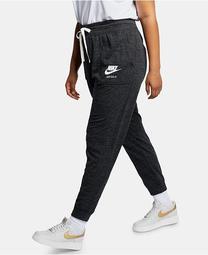 Plus Size Sportswear Gym Vintage Heathered Pants
